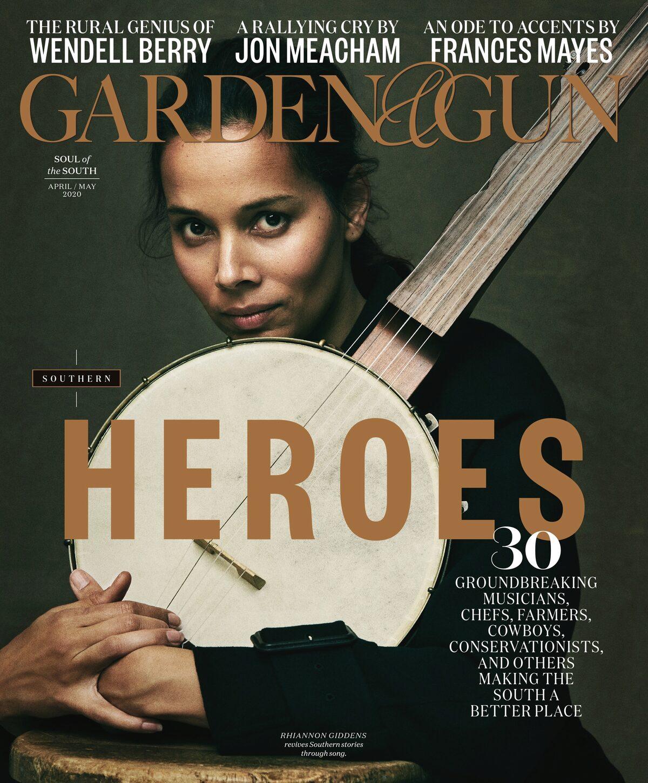 Garden & Gun cover