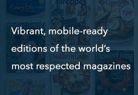 eMagazines Benefits