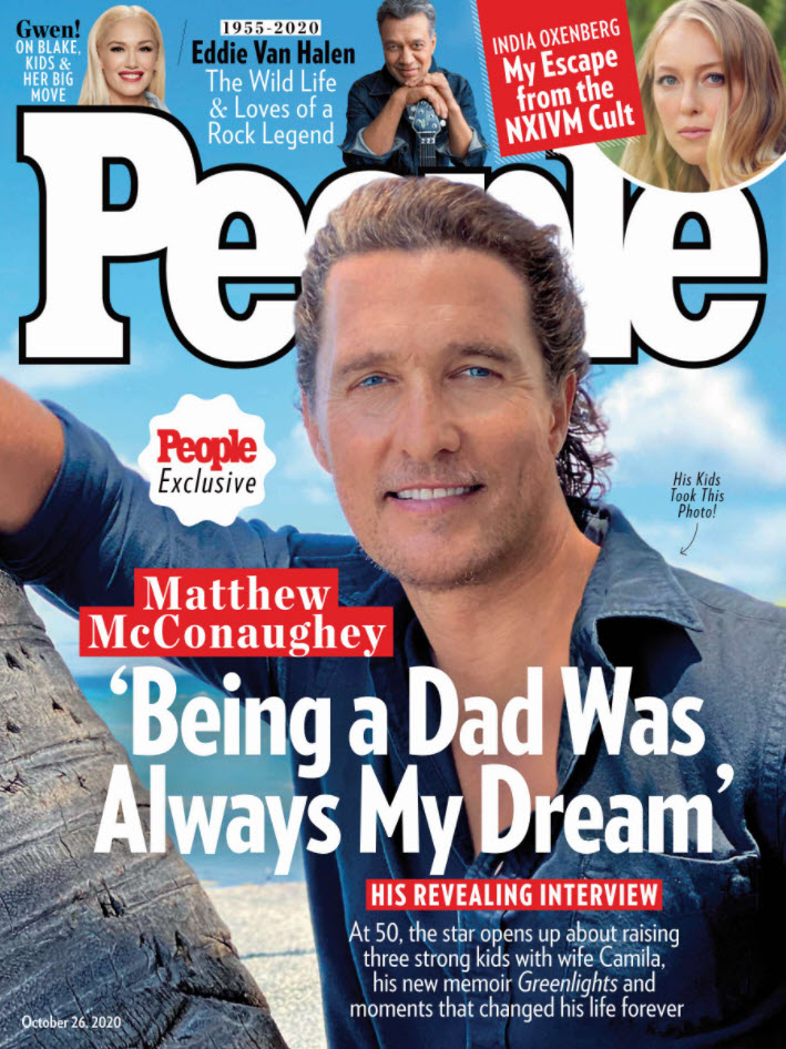 People print subscription cover